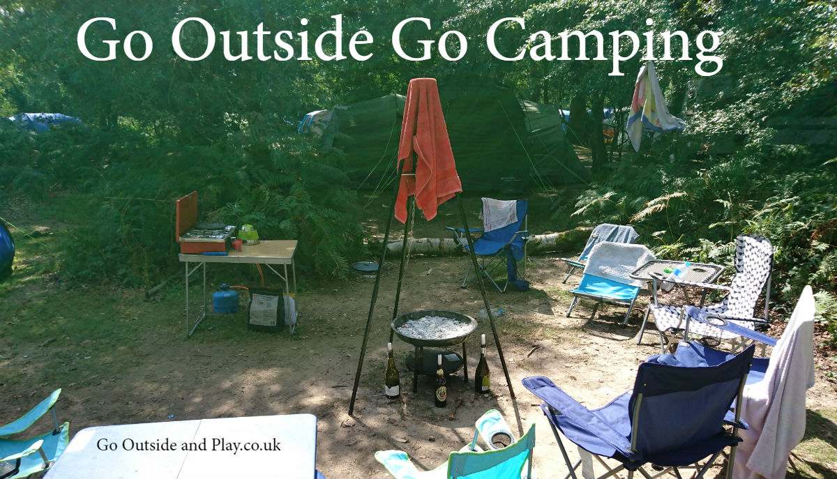 Go Outside – Go Camping