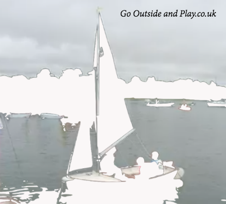 Play outside like in swallows and amazons