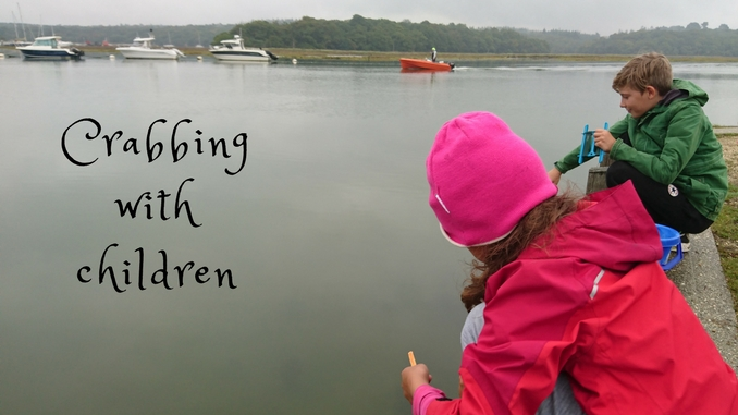How to go crabbing with children